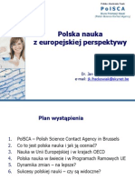 Polska nauka z europejskiej perspektywy