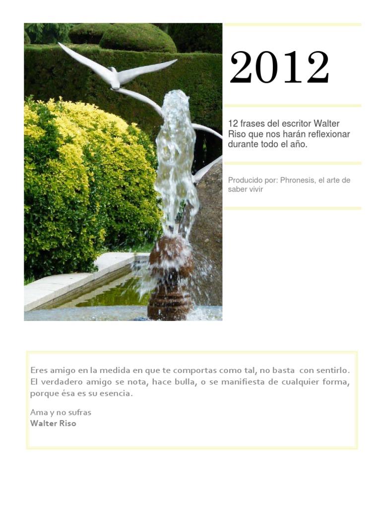 2012 Walter Riso Amor Ciencia Filosófica