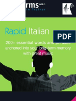 Booklet Italien