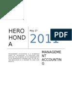 Hero Honda Finance