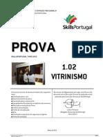 Prova (Vitrinismo) 2012