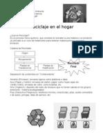 Tema 4 Reciclaje en El Hogar