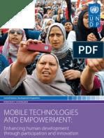 Undp Mobile Technology Primer