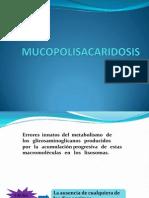 MUCOPOLISACARIDOSIS
