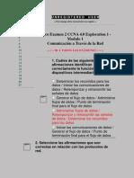 Cisco Examen2 Modulo1 Exploration 1 CCNA 4.0