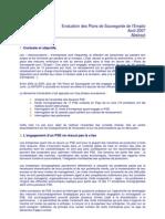 TMO Régions - Evaluation des Plans de Sauvegarde de l'Eemploi
