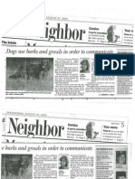 Chicago Daily Herald August 2003