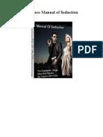 Manual of Seduction Franco ITA