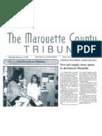 Marquette County Tribune 2003