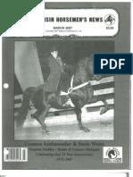 Wisconsin Horsemen's News March 2007