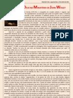O PODER DE DEUS NO MINISTÉRIO DE JOHN WESLEY