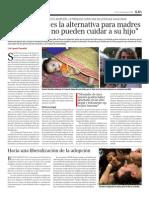 Proyecto Adopción en Semanario ALBA