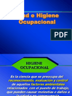 2) Unidad I - Salud e Higiene Ocupacional