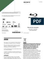 Manual Bluray BDP-S480
