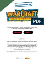 Warcraft - Orcs & Humans Manual