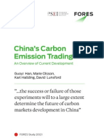 China's Carbon Emission Trading