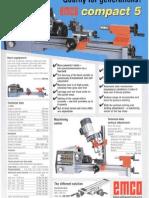 Emco Compact 5 Brochure EN