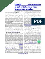 John T. Reed- The Biggest Mistakes Real Estate Investors Make