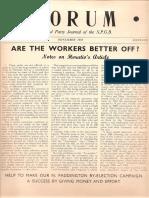 Spgb Forum 1953 14 Nov