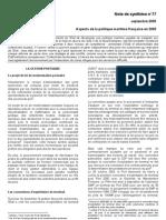 Aspect de La Politique Portuaire Francaise 2005