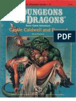 D&D 1E - B09 - TSR 9143 - Castle Caldwell and Beyond