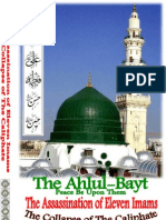 The Ahlul Bayt Book, Assassination of The Eleven Imams THE COLLAPSE OF THE CHALIPHATE by His Eminency Dr. Hazrat S. S. M N Alam