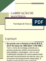 FABRICAÇÃO DE MANTEIGA