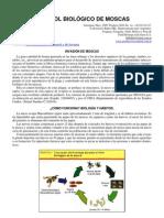 Control biológico de moscas en granjas en general