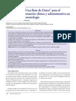RevistaColombianaDiciembre2005--Desarrollo de Una Base de Datos 34-38