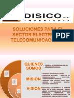 Disico s.a. - Port a Folio de Servicios