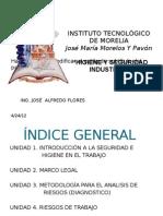 1.- INTRODUCCIÓN A LA SEGURIDAD E HIGIENE EN EL TRABAJO