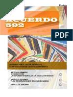 Revista acuerdo 592