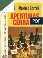 Aperturas Cerradas Maximo Borrell