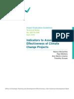 Climate Change Adaptation BID