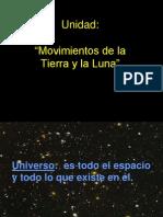 Movimientos de La Tierra y La Luna