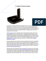 D-Link DIR-412 Mobile Wireless Router
