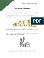 HISTORIA DE LA GASTRONOMÍA - H. POZADA
