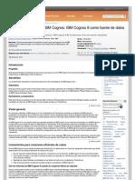 Prácticas probadas de IBM Cognos IBM Cognos 8 como fuente de datos para Transformer