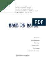 Proyecto de Base de Datos Auto Guard Ado) en PDF
