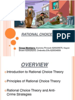 Rational Choice Theory Ppt