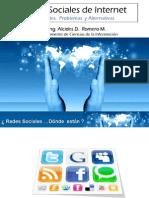 Redes Sociales Alcides Romero