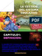 Gestion Del Sistema Educativo