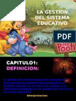 Gestion Del Sistema Educativo