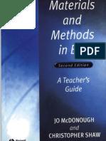 Materials and Methods in ELT