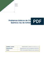 Articulo Docente Problema CQ Arrhenius