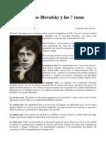 Madame Blavatsky y Las 7 Razas