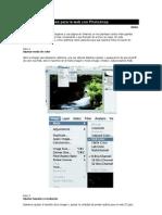 Tutorial Optimizar Imagenes en Photoshop