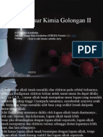 Unsur-Unsur Kimia Golongan II