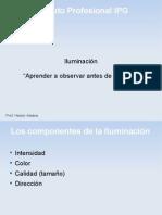 Características de la iluminación