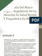 Descripción Del Marco Legal Y Regulatorio De La